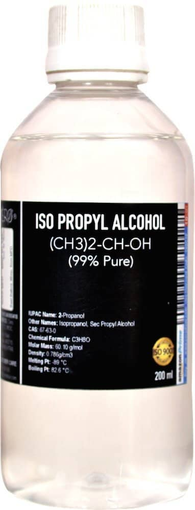 A picture of rubbing alcohol bottle