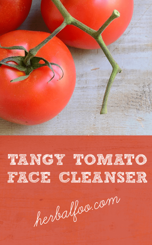 Tangy Tomato Face Cleanser