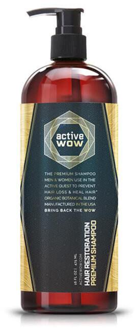 Active Wow Argan Oil Shampoo