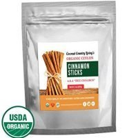 Organic True Ceylon Cinnamon Sticks 8 oz Fairtrade, Freshly Harvested